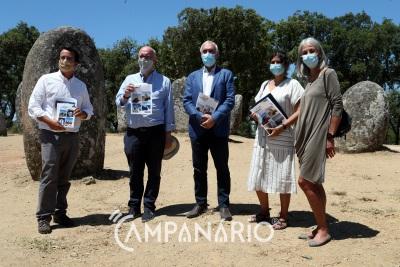 Governo salvaguarda o monumento dos Cromeleques e município faz acordo com privado para delimitar a zona de proteção, diz presidente do município de Évora (C/SOM E FOTOS)