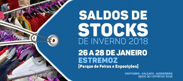 Saldos de stock de Inverno de 26 a 28 de janeiro em Estremoz
