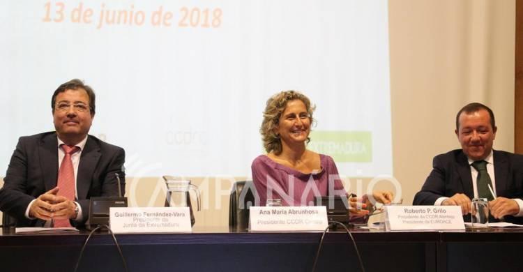 Presidente da CCDR Alentejo passa testemunho da EUROACE à presidente da CCDR Centro (c/som e fotos)