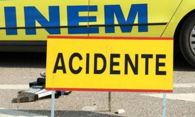 Acidente de Carro Provoca Um Internamento no Hospital de Évora e 5 feridos leves perto de Avis