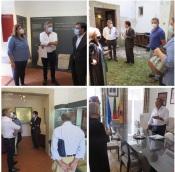 Diretor e a Subdiretora Geral Património Cultural, Bernardo Alabaça e Fátima Pereira visitaram Alter do Chão.
