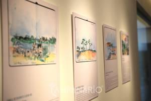 Festival de Desenho Traço'19 inaugura exposição no Centro de Ciência do Café em Campo Maior (c/som e fotos)