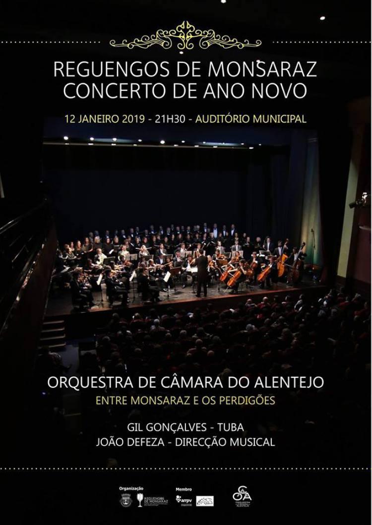 Concerto de ano novo traz Orquestra de Câmara do Alentejo a Reguengos de Monsaraz