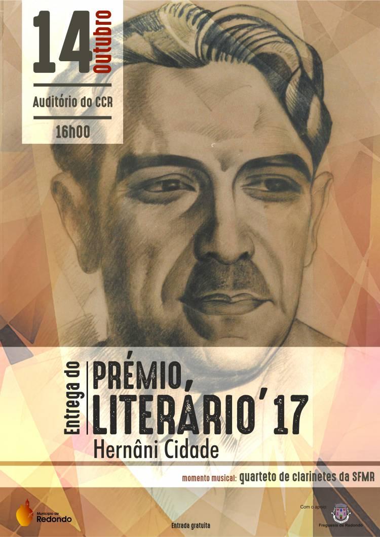 Redondo: Prémio Literário Hernâni Cidade será entregue este sábado