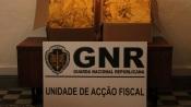Évora: GNR apreende 40 quilos de folha de tabaco, o que dava para produzir mais de 40 mil cigarros