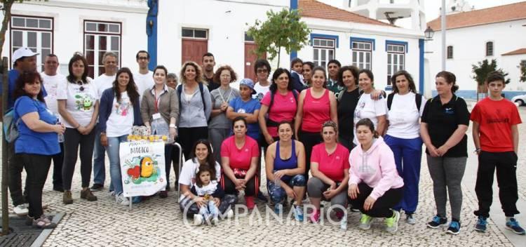 Caminhada Pirilampo Mágico moveu Sousel por uma boa causa (c/fotos)