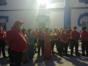 Reguengos de Monsaraz: sirene dos Bombeiros tocou em homenagem às vitimas mortais de covid 19 daquele concelho