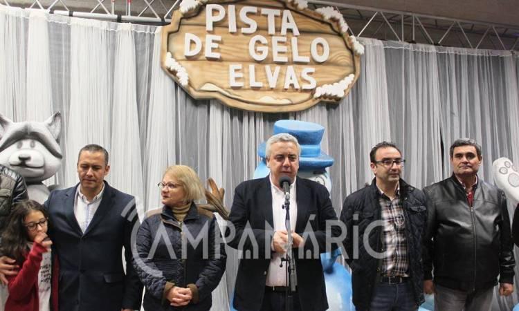 Campanário TV: Pista de Gelo de Elvas já recebeu mais de 500 mil visitantes