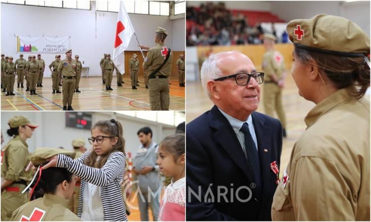 Voluntários da Cruz Vermelha Portuguesa juraram Compromisso de Honra em Portalegre (c/som e fotos)