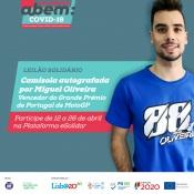 Miguel Oliveira associa-se a leilão solidário com camisola autografada