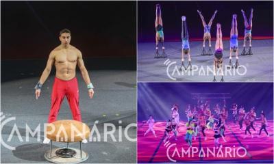 """Elvas recebeu centenas de ginastas no espetáculo Pirouette """"uma aquarela em movimento e o espelho dos valores olímpicos"""" (c/fotos)"""