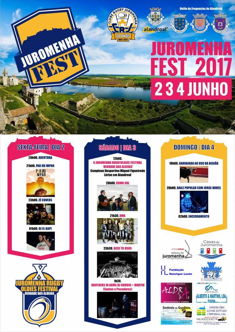Clube de Rugby promove Festival de Musica em Juromenha
