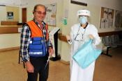 Câmara de Grândola entrega equipamentos de proteção individual e soluções desinfetantes a instituições do Concelho