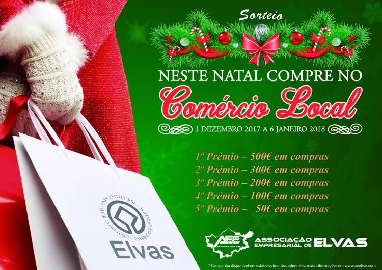 Comprar no comércio local de Elvas também vai dar prémios