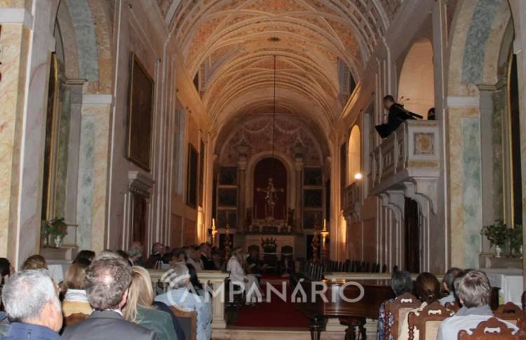 Vila Viçosa: Música clássica está de regresso à Capela do Paço Ducal na próxima sexta-feira
