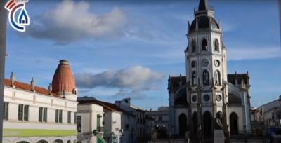 Veja aqui o vídeo das obras de requalificação da Praça da Liberdade em Reguengos de Monsaraz