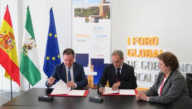 Câmara Municipal de Évora e Ayuntamiento de Sevilha assinam memorando de entendimento