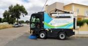 Nova varredora urbana reforça serviço de limpeza de Grândola