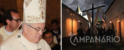 """""""Tudo o que se faça a esse nível é canonicamente ilegal"""" diz Arcebispo de Évora sobre Procissões na Semana Santa"""