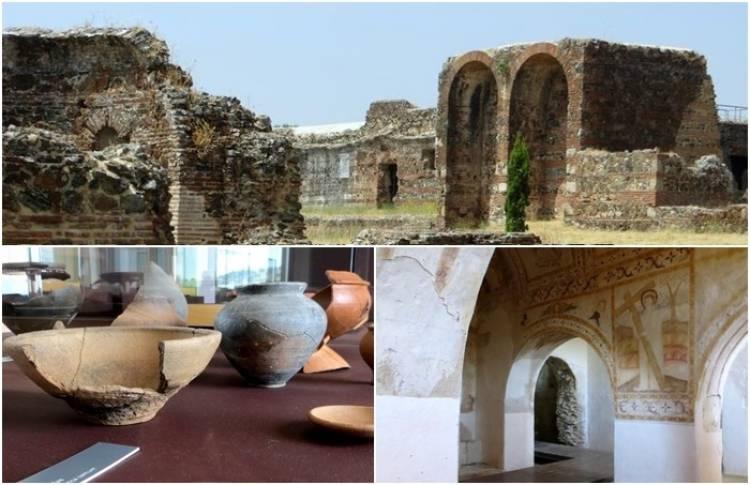 """Villa romana onde """"nasceu"""" o vinho da talha, recebe 6 mil visitantes por ano (c/som)"""