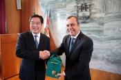 Sines recebe visita de delegação chinesa de Xangai