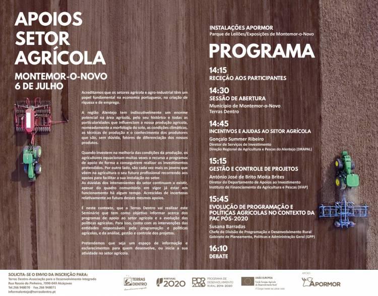 Terras Dentro promove seminário em Montemor-o-Novo