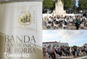 Secular Fonte das Bicas recebe concerto da Banda Filarmónica do Centro Cultural de Borba!Veja as fotos!(c/som)