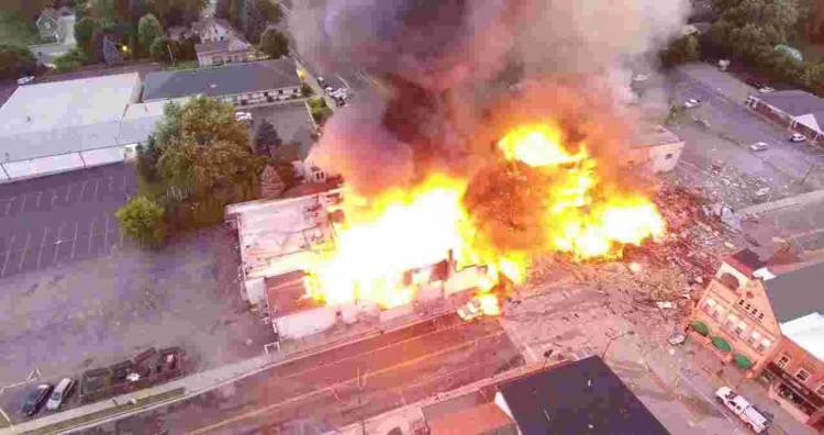 Última Hora: Explosão em Vila Viçosa faz 1 ferido