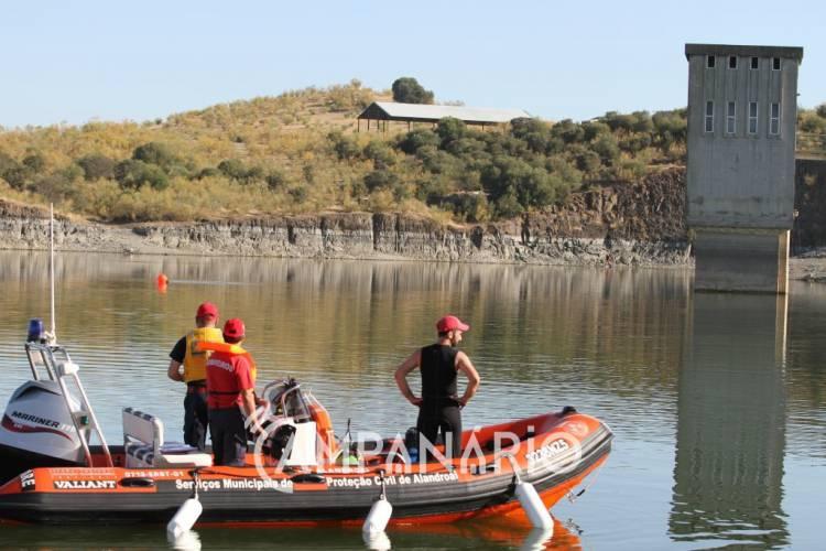Campanário TV: Homem perdeu a vida nas águas da Barragem do Lucefecit (c/video)