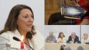 """Filomena Raposo autora de """"Invocações e Exortações dos Anjos da Guarda"""" em reportagem à RC na apresentação do livro (c/som e fotos)"""