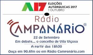 Autárquicas 2017: Debate com os candidatos à Câmara de Vila Viçosa esta sexta-feira