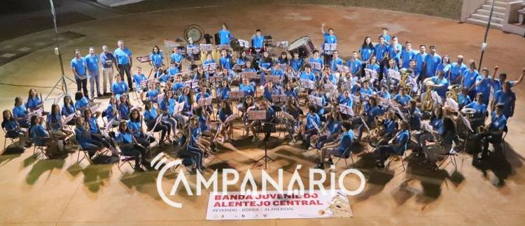 Banda Juvenil do Alentejo Central quer expandir a membros de toda a região, diz Maestro da Banda de Borba (c/som e fotos)