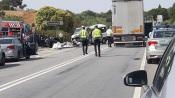Colisão entre três carros faz cinco feridos em Ourique, no Alentejo.