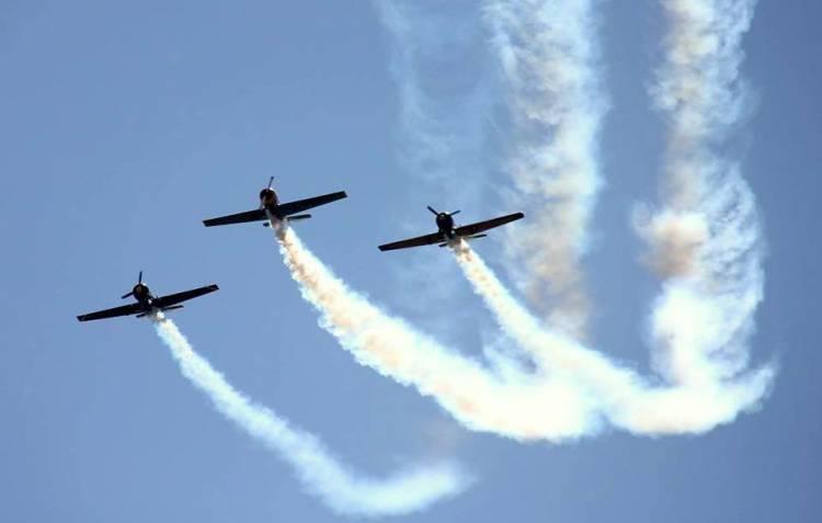 Festival Aéreo anima céus de Évora no 66º aniversário da Força Aérea