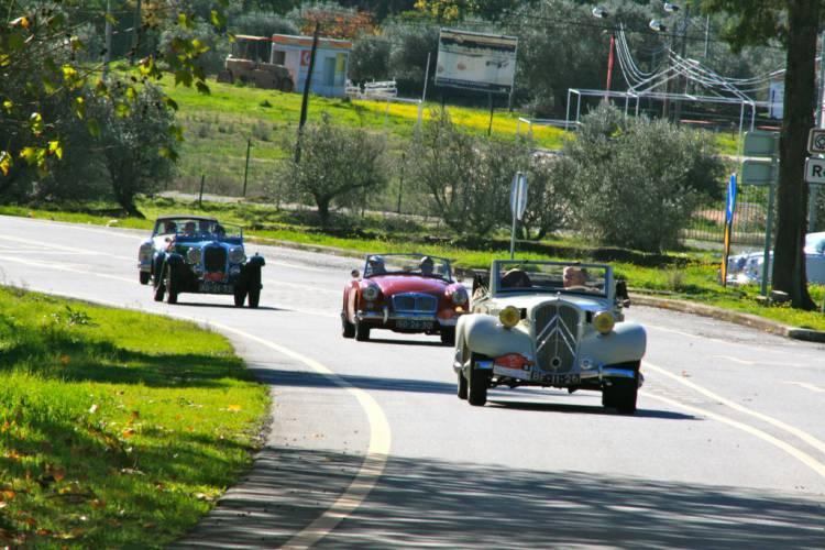 Carros clássicos percorrem Alentejo em 48 Horas