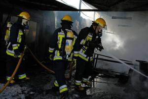 Incêndio no centro histórico de Beja desaloja família