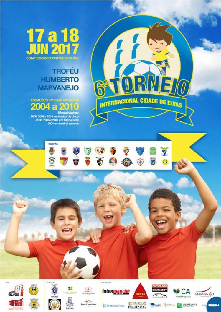 Centenas de jovens futebolistas vão estar em Elvas no Torneio Internacional