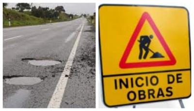 Avançam as obras na EN-246, entre Arronches e  Portalegre