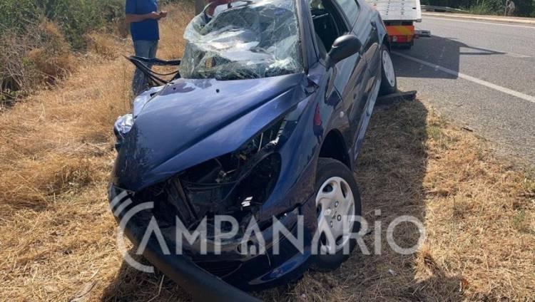 Faleceu vítima do sexo feminino com 48 anos do acidente à saída de Borba
