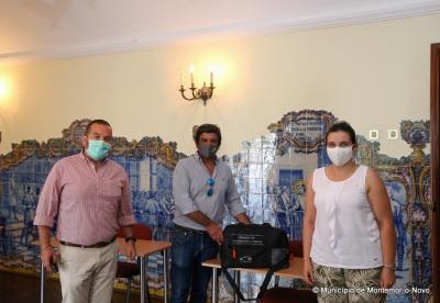 Grupo A MatosCar oferece máquina de desinfeção a ozono à Câmara de Montemor-o-Novo