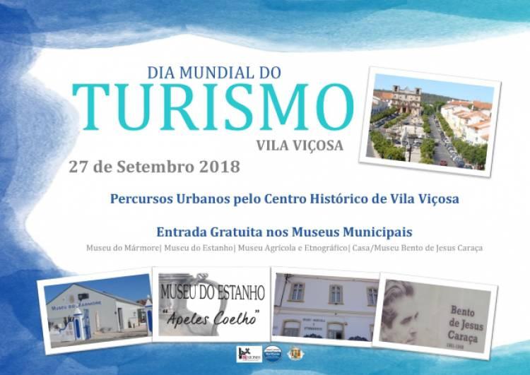 Município de Vila Viçosa celebra Dia Mundial do Turismo com entradas livres em museus