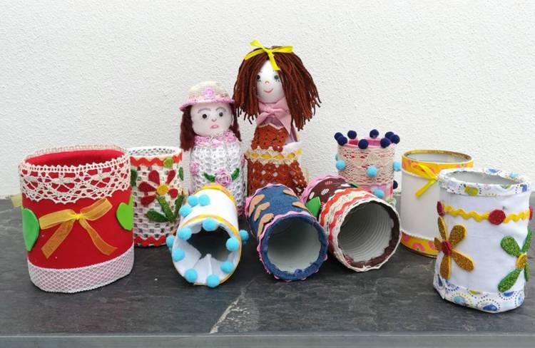 """Exposição de latas """"Criar, Decorar, Reutilizar"""" na Biblioteca Municipal de Reguengos de Monsaraz"""