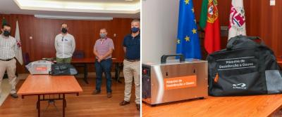 Grupo A MatosCar ofereceu equipamento de desinfeção a ozono ao Município de Arronches