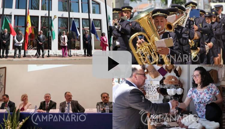 A Campanário mostra-lhe em vídeo a inauguração da 33ªedição da FIAPE