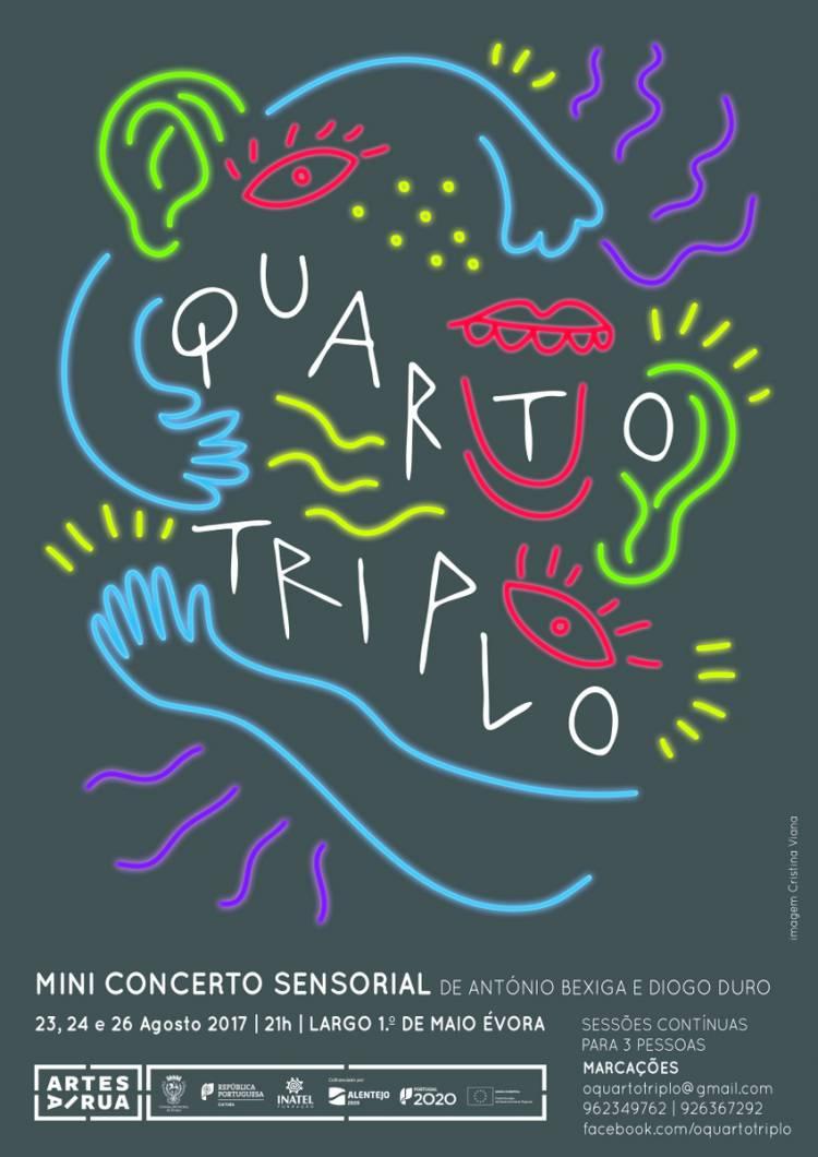 Évora recebe Quarto Triplo, um Mini Concerto Sensorial