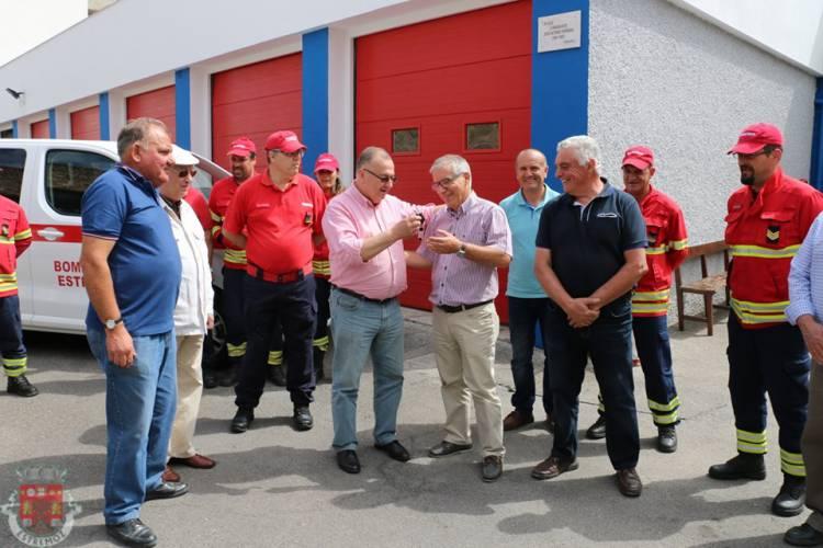 Município oferece ambulância aos Bombeiros Voluntários de Estremoz
