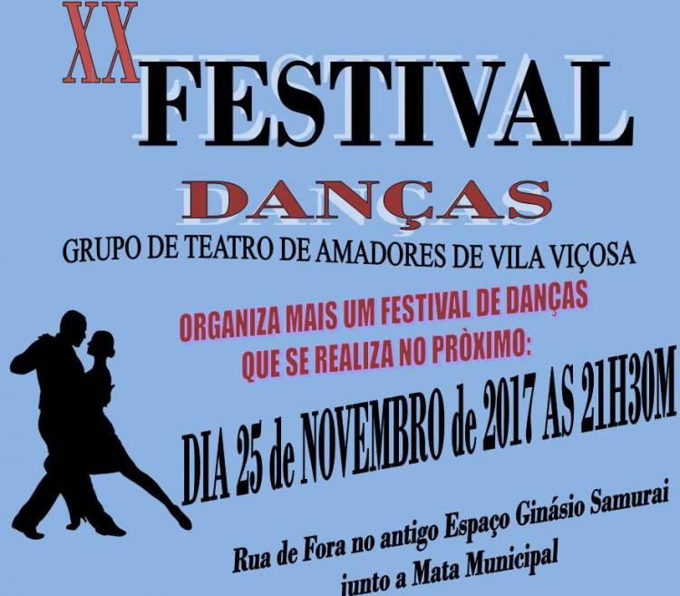 Grupo de Teatro Amadores de Vila Viçosa promove XX Festival de Danças