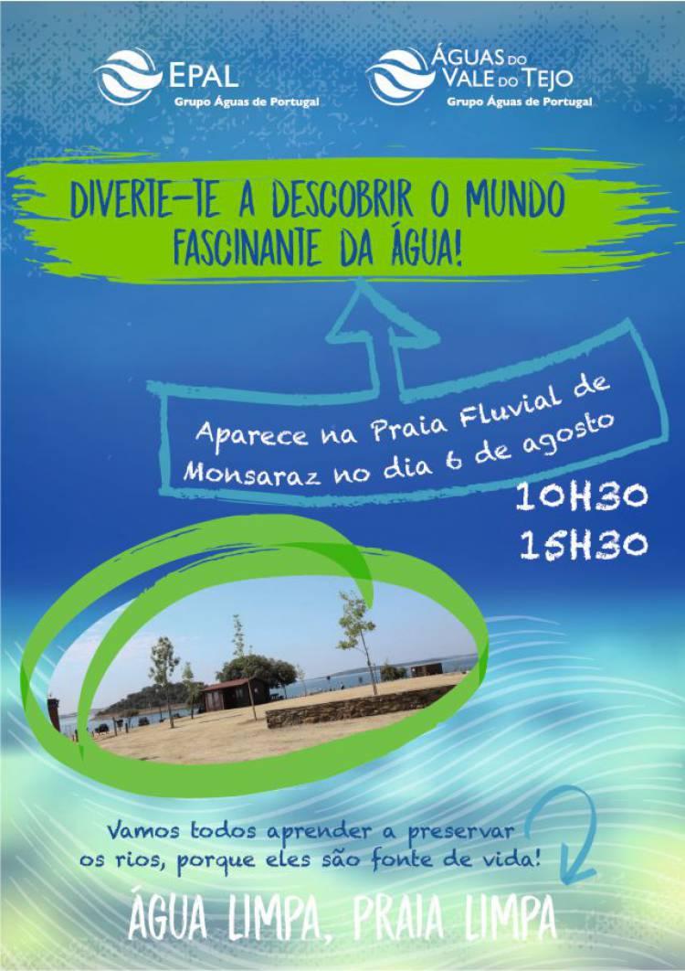 EPAL realiza atividade na Praia Fluvial de Monsaraz