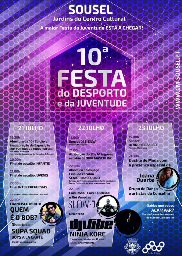 Sousel recebe 10ª Festa do Desporto e da Juventude já no próximo fim-de-semana