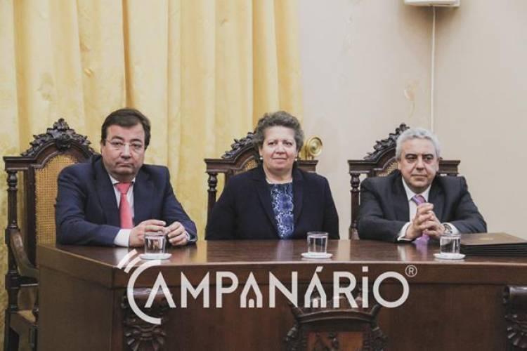 Campanário TV: A assinatura, em Elvas, do protocolo de dinamização projeto Janela Única Logística (c/video)